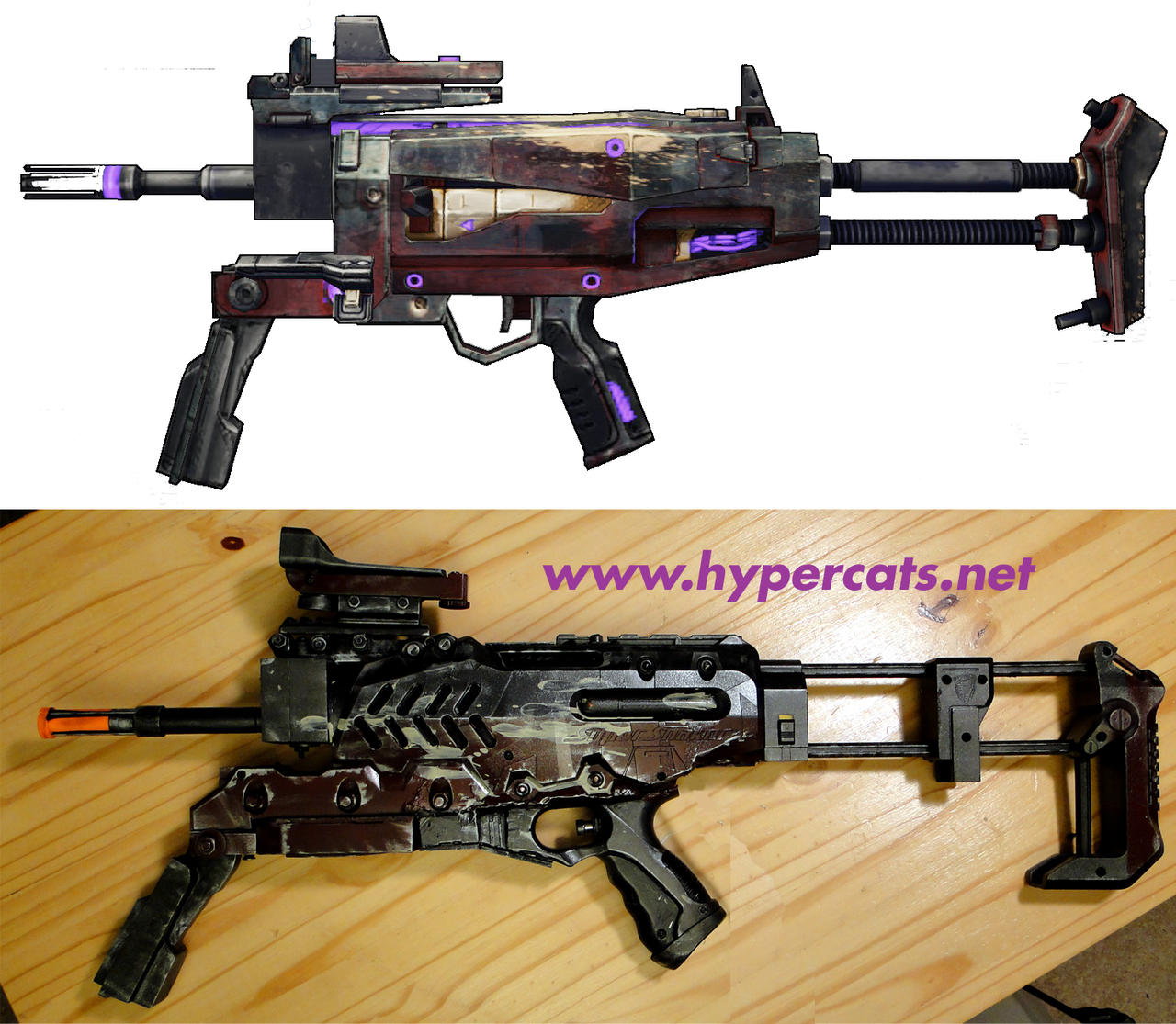 Energizing Bane SMG - comparison by Hypercats