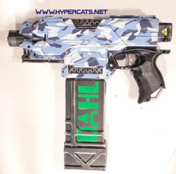 Nerf Stryfe - DAHL Camo vinyl wrap