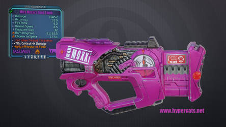 Moxxi's Good Touch - Nerf Firefly paintjob by Hypercats