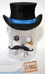 Sir Reginald Von Bartlesby in his jar!