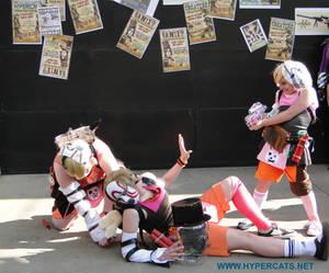 Anime Central 2014 Borderlands 2 Tiny Tina cosplay