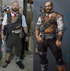 Axton community day skin cosplay
