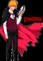 Ichigo-Holloween by Androkording