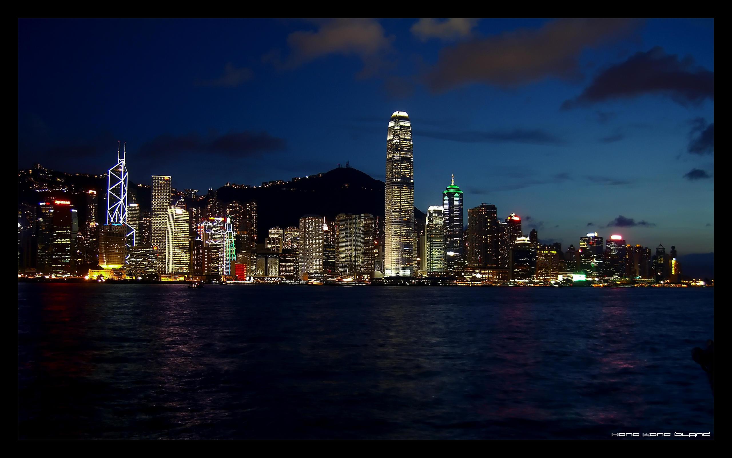 Hong Kong Island by cvhuie