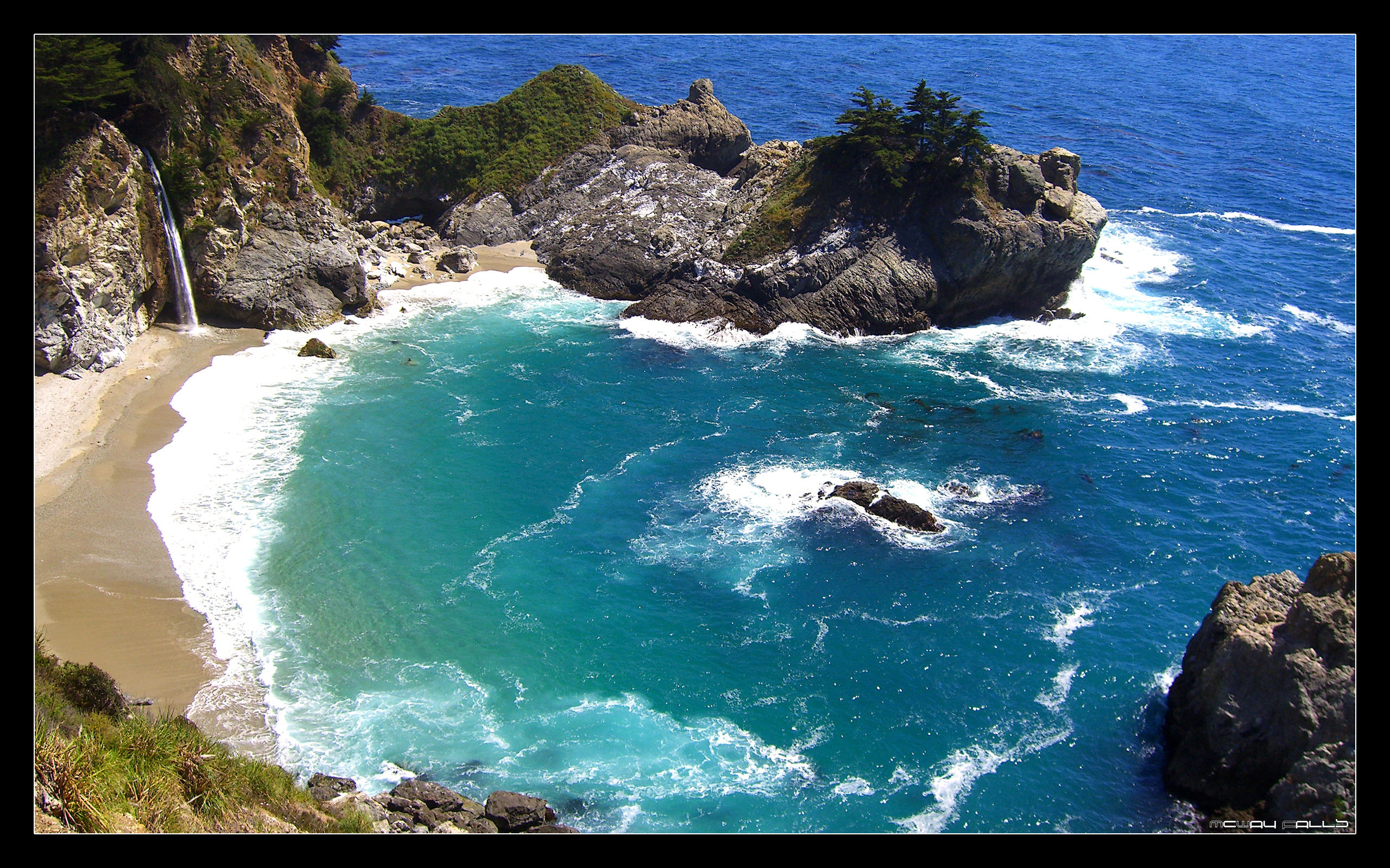 McWay Falls by cvhuie
