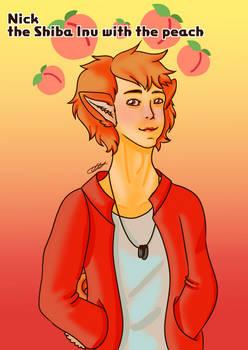 A Peachy Shiba