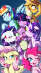 Spike gets ALL the Mares