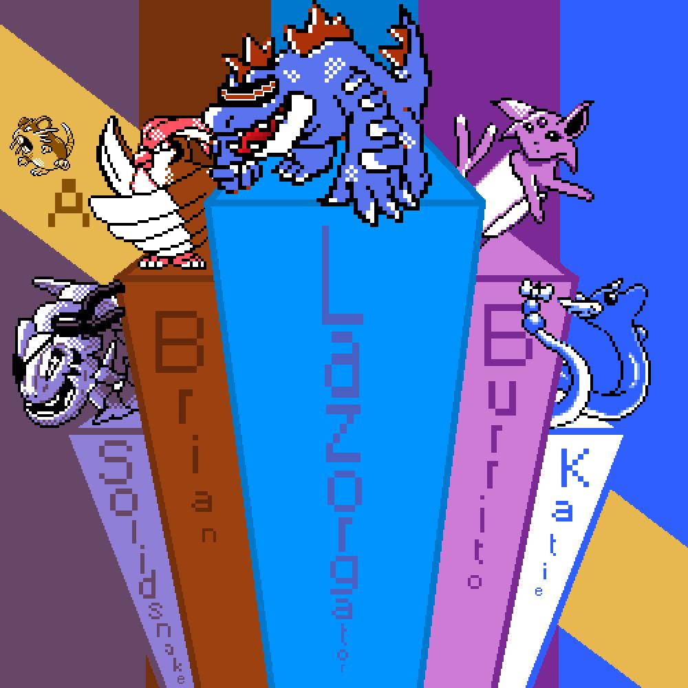 Twitch Plays Pokemon Crystal Elite 4 Team by Novaphyer on ...