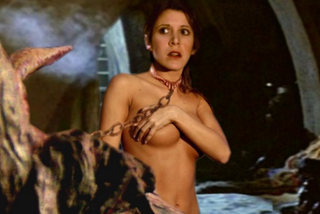 princess leia naked