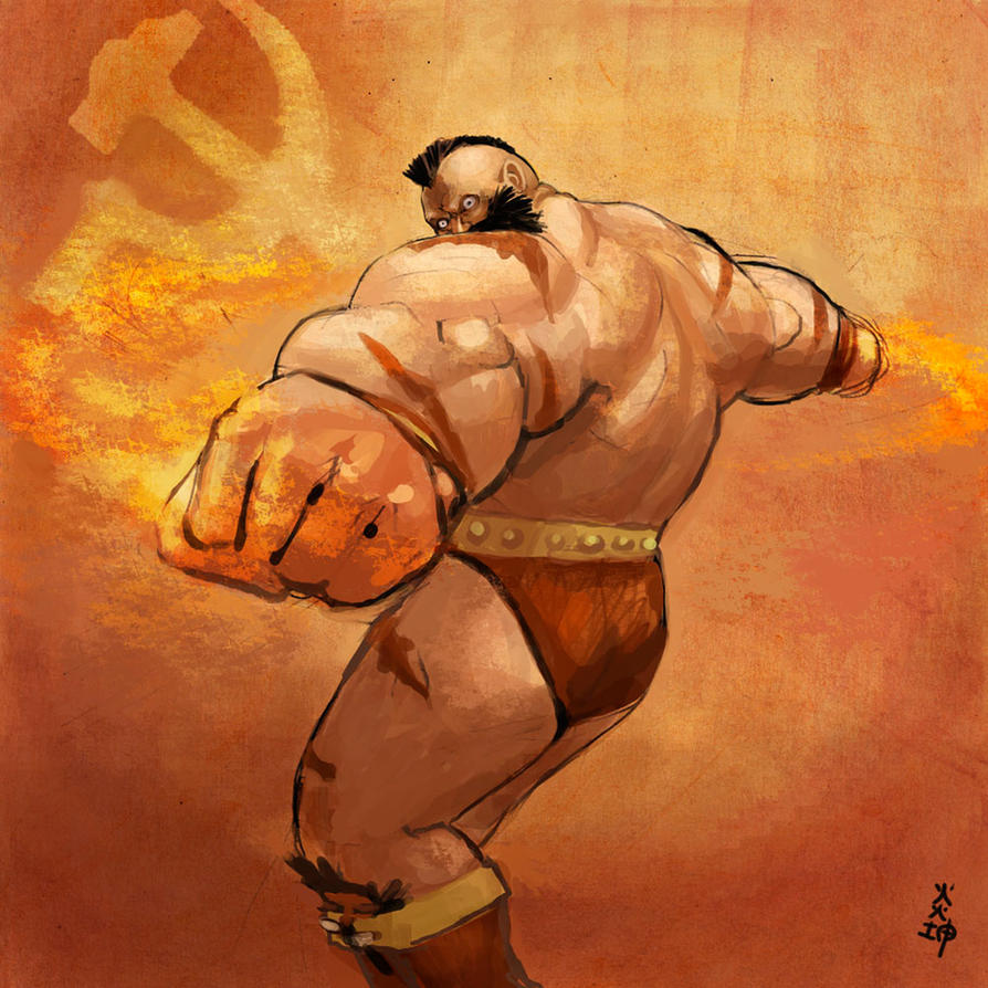 Zangief by leeyiankun