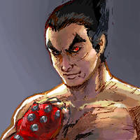 Kazuya - Tekken by leeyiankun