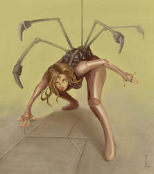 Spider lady by leeyiankun