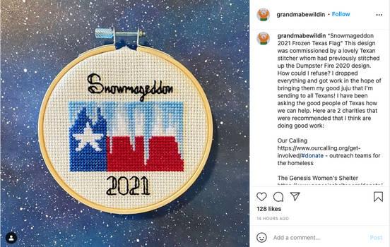 Snowmageddon 2021-02-22 at grandmabewildin
