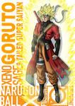 Xeno Sage Goruto 9 tailed Super Saiyan.