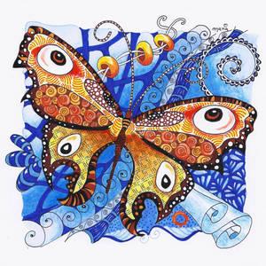 Schmetterling Tangle