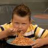 guppy likes his spaghetti by MistyFire123