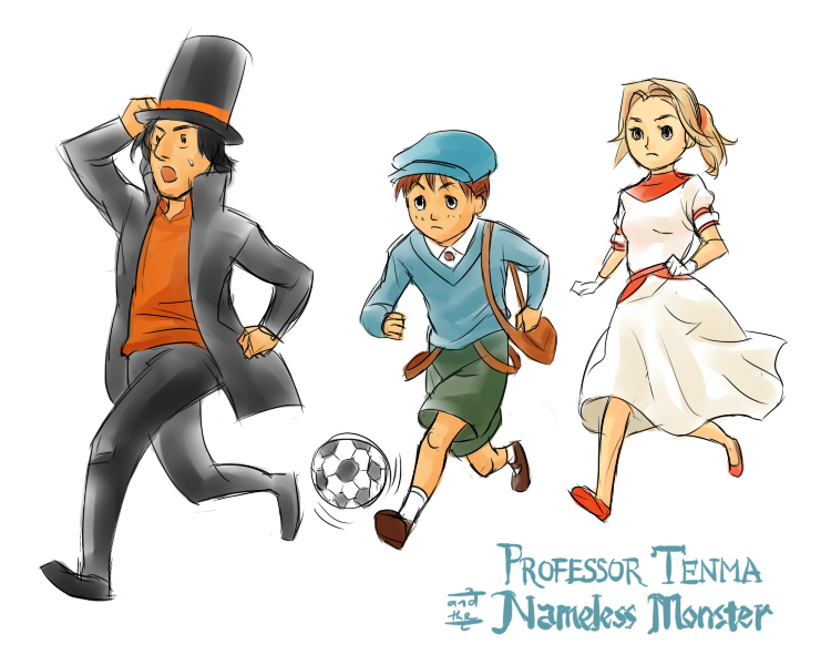 MONSTER Layton by bluestraggler