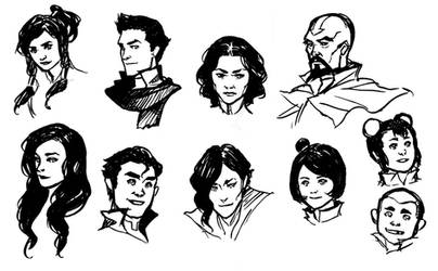Legend of Korra roll call