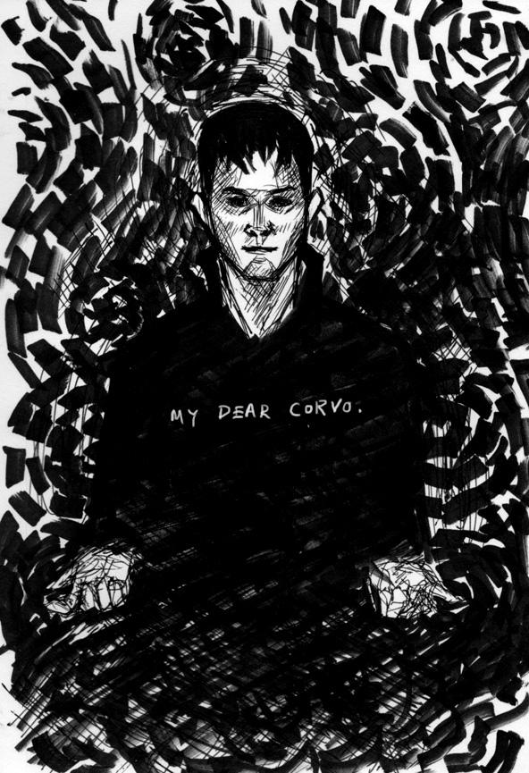 Dishonored - My Dear Corvo by bluestraggler