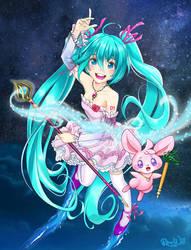 Magical Miku by Randwill