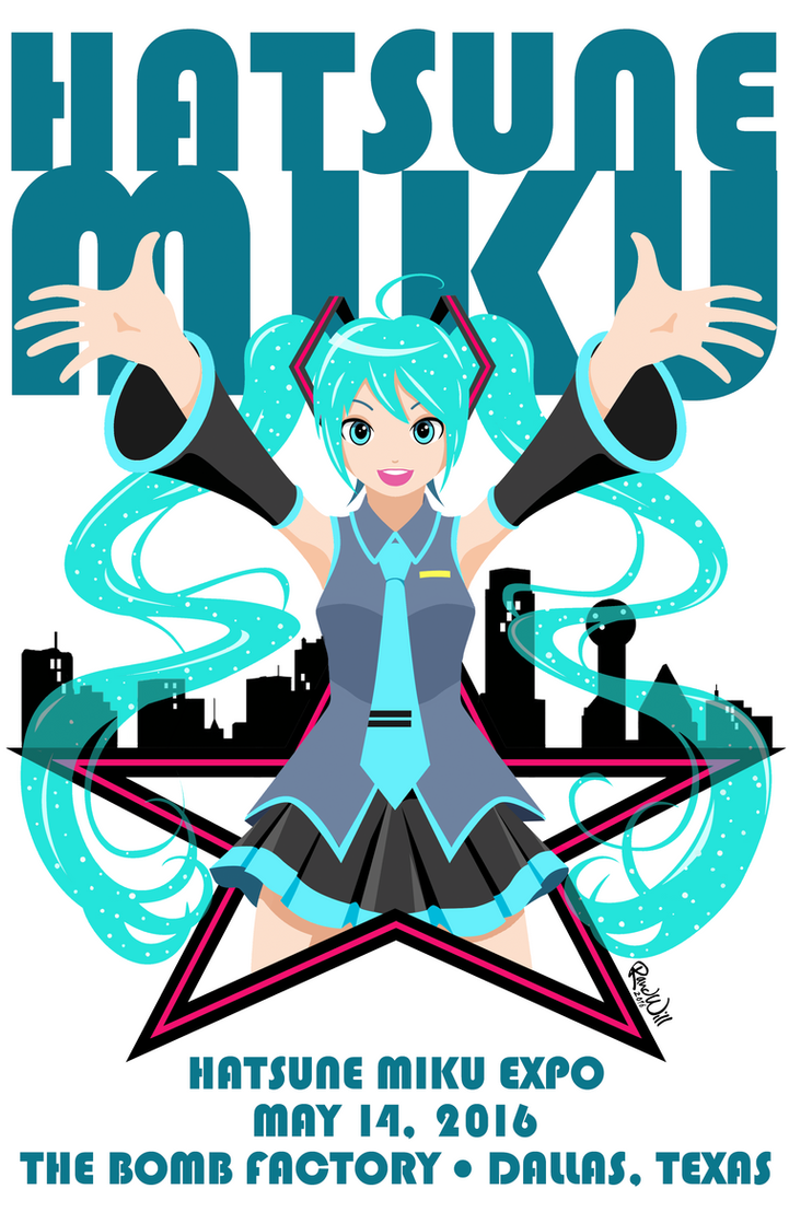 Miku Expo Dallas 2016 by Randwill