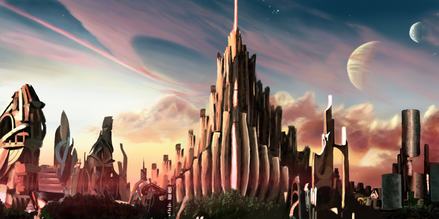 Asgard Landscape by aidanrandwilson