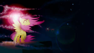 Colors in the wind - Fluttershy Wallpaper