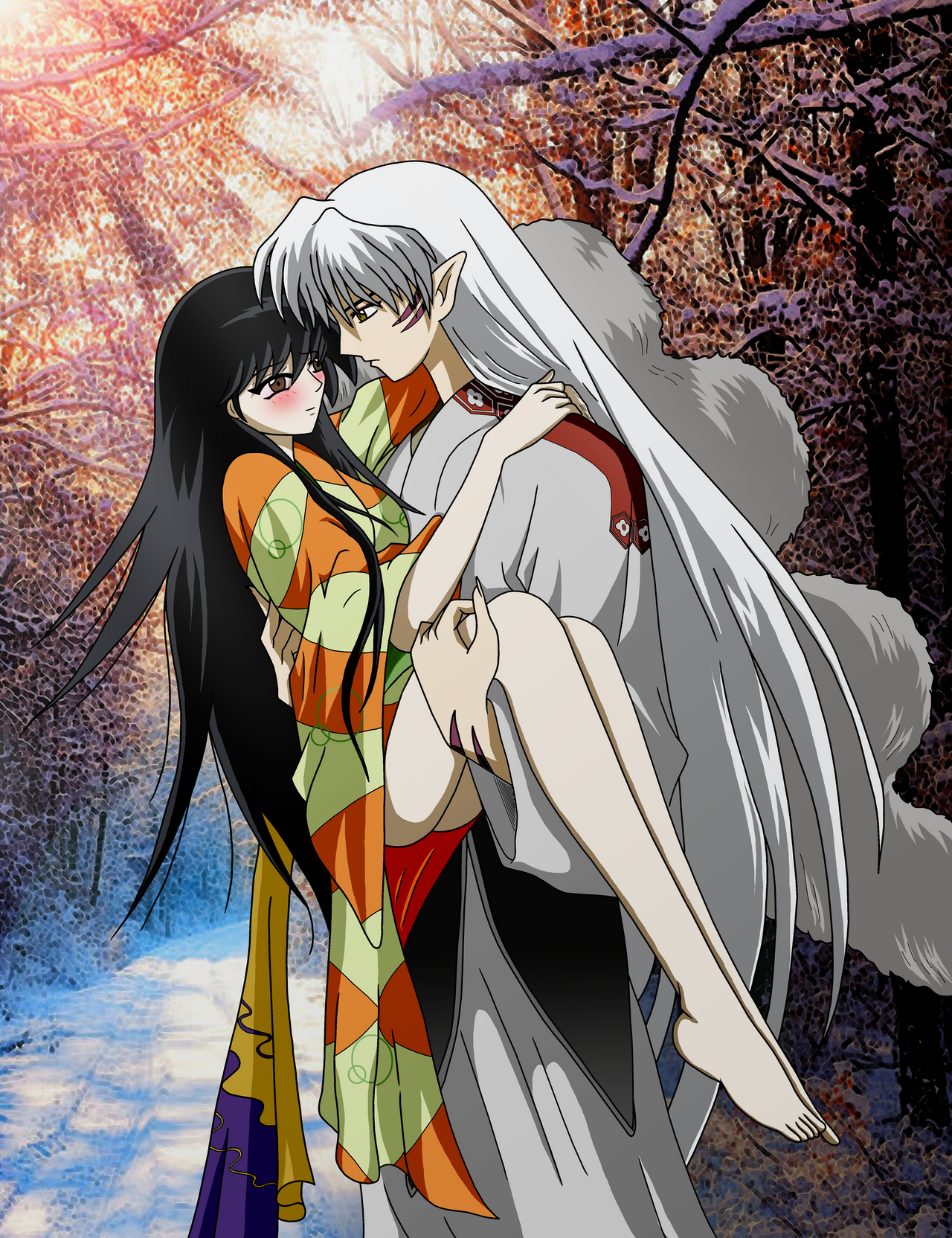 rin and sesshomaru ending a relationship