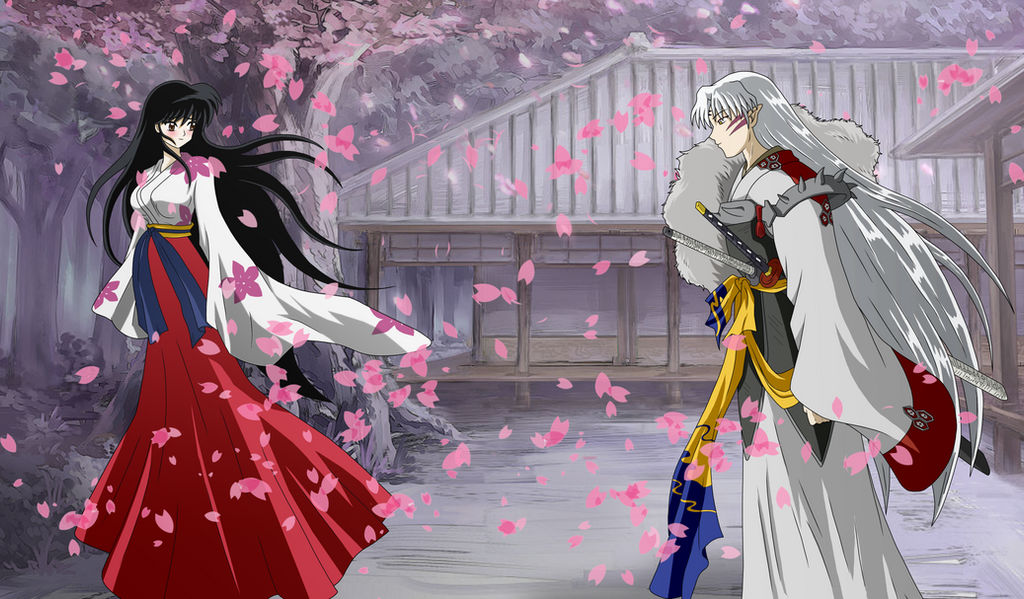 Lady Rin And Lord Sesshomaru Together Forever By Inu Sessh Rin On