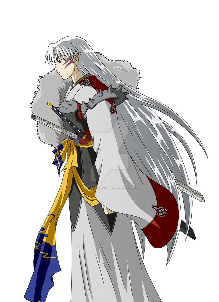 Sessh Lady Rin And Lord Sesshomaru Together By Inu Sessh Rin
