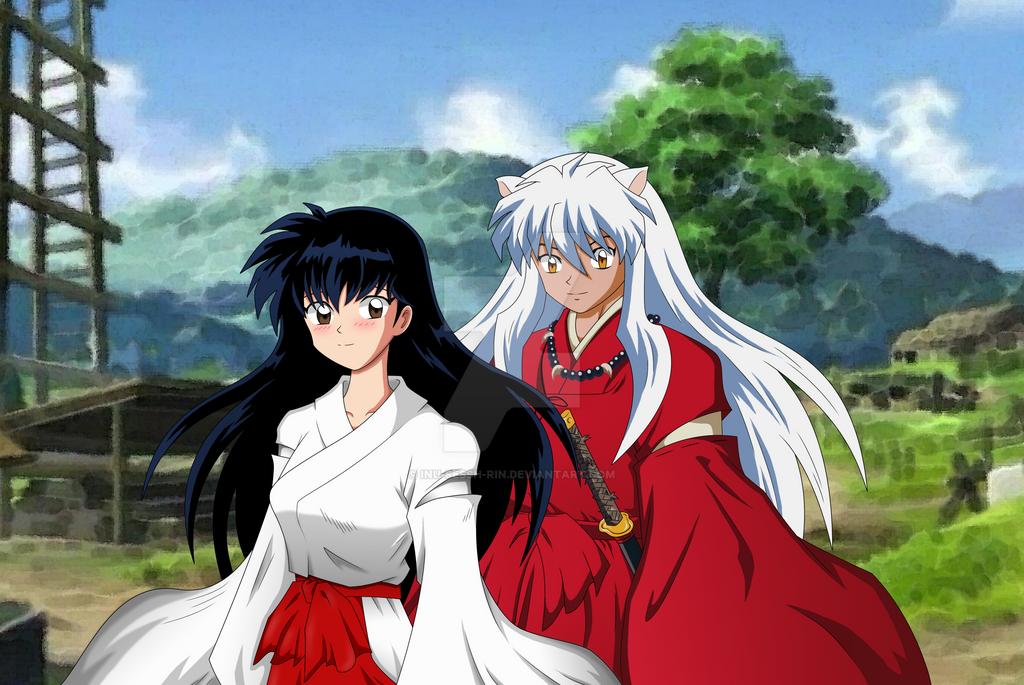 Inuyasha Kagome And Inuyasha Inuyasha and Kagome by...