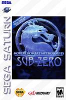 Mortal Kombat Mythologies Sub Zero for Saturn