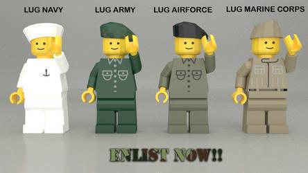 Soldados Lego