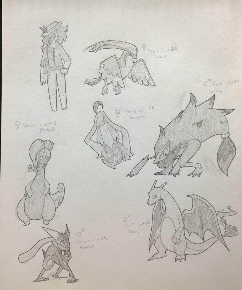Go, go, KuroX Team by KuroHeta