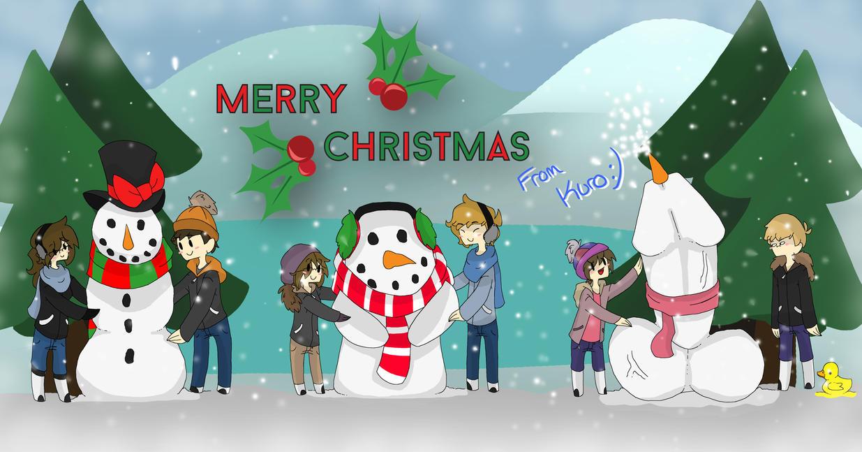 Merry Christmas from the CoopAudience by KuroHeta