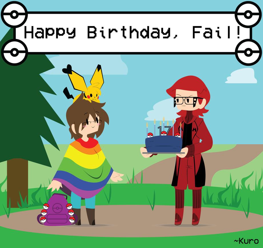 Birthday for Fail by KuroHeta