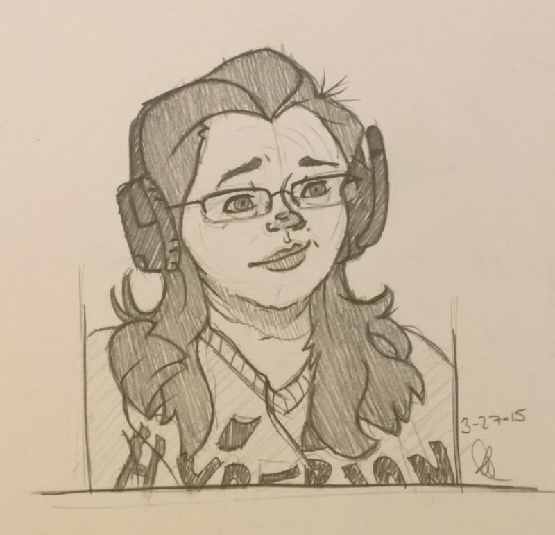Sketch- Face by KuroHeta