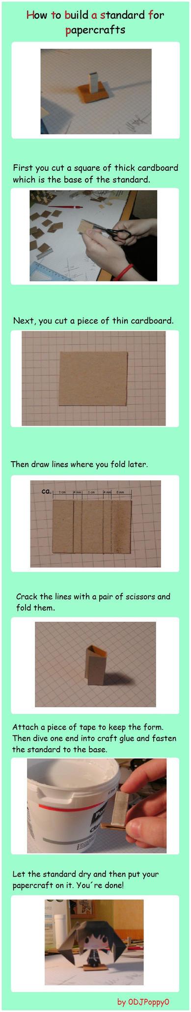 Papercraft Standard Tutorial by 0DJPoppy0