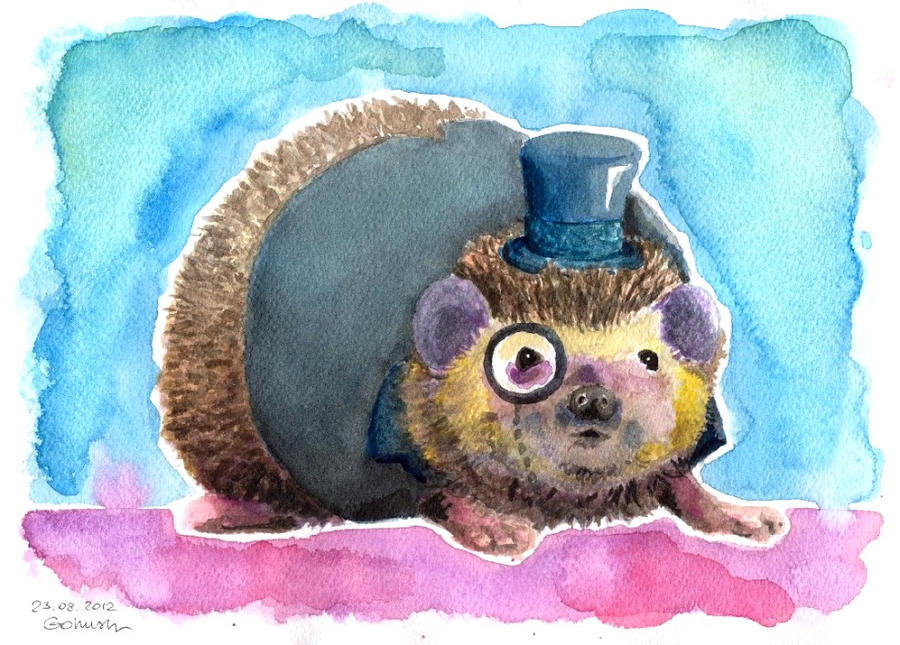 Mr. Hedgehog by Gohush