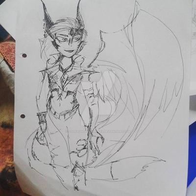 Demon by StarlightArchangel