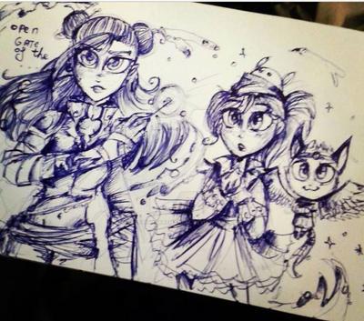 Fairy Tail Oc Rmake by StarlightArchangel