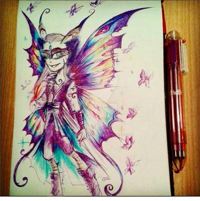 Butterfly fairy by StarlightArchangel