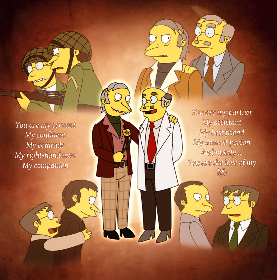 TS - My Everything Burns/Smithers Sr. by gabrielcic on DeviantArt