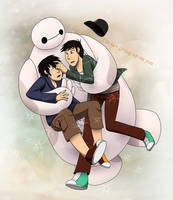BH6 -  I'm not Giving up on You by gabrielcic