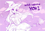 .witch costume. YCH [SET PRICE] [SOLD]
