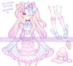 .Ice Cream Princess. ADOPTABLE [CLOSED]