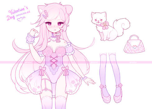 .Valentine's Day. ADOPTABLE #1 [CLOSED]