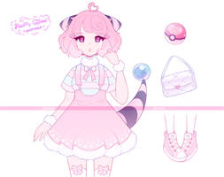 .Flaafy Gijinka. ADOPTABLE [CLOSED]