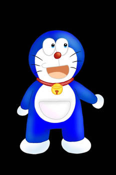 Lineless Doraemon!