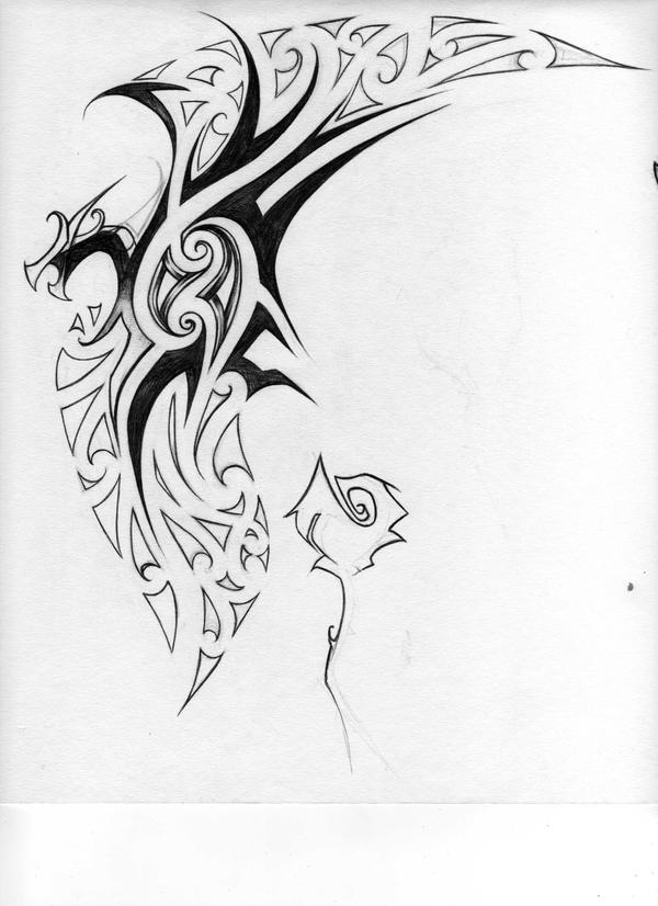 Maori-Tribal Tattoo Design By Kiwi-anim8a On DeviantArt